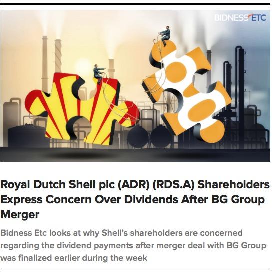 financial analysis for royal dutch shell